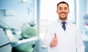 Smiling dentist in Newnan GA